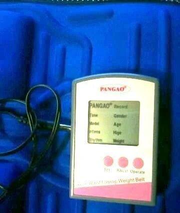 Вибропояс для похудения Pangao PG-2001 - массажный пояс, фото 1