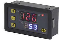 220V циклический таймер включения и выключения с двойным дисплеем T3230