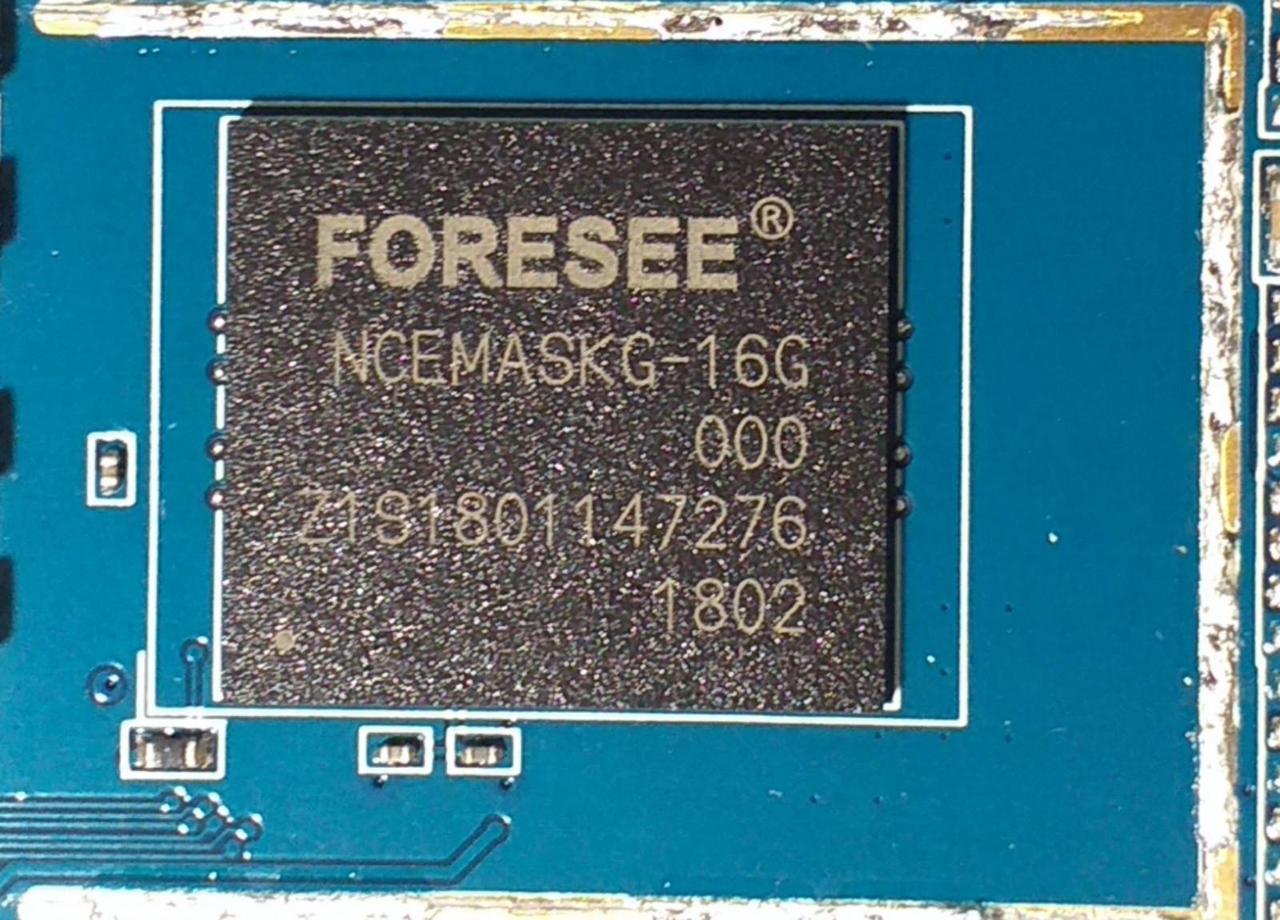 Прошитая Микросхема памяти EMMC NCEMASKG-16G Nomi Corsa 4 БЕЗ Z3X UFI BOX