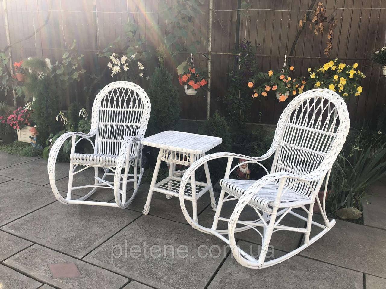 Кресло-качалка из лозы(набор)
