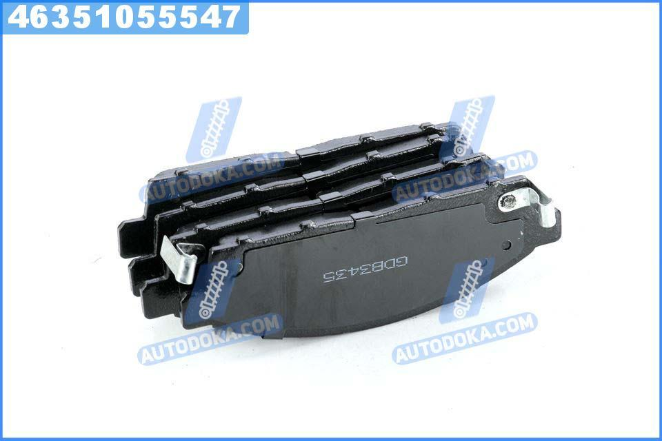 Колодки тормозные дисковые STANDARD МИТСУБИШИ L200 07- передние (RIDER)  RD.24529STD