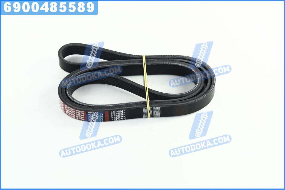 Ремень поликлиновый 6PK1830 (производство  DONGIL)  6PK1830