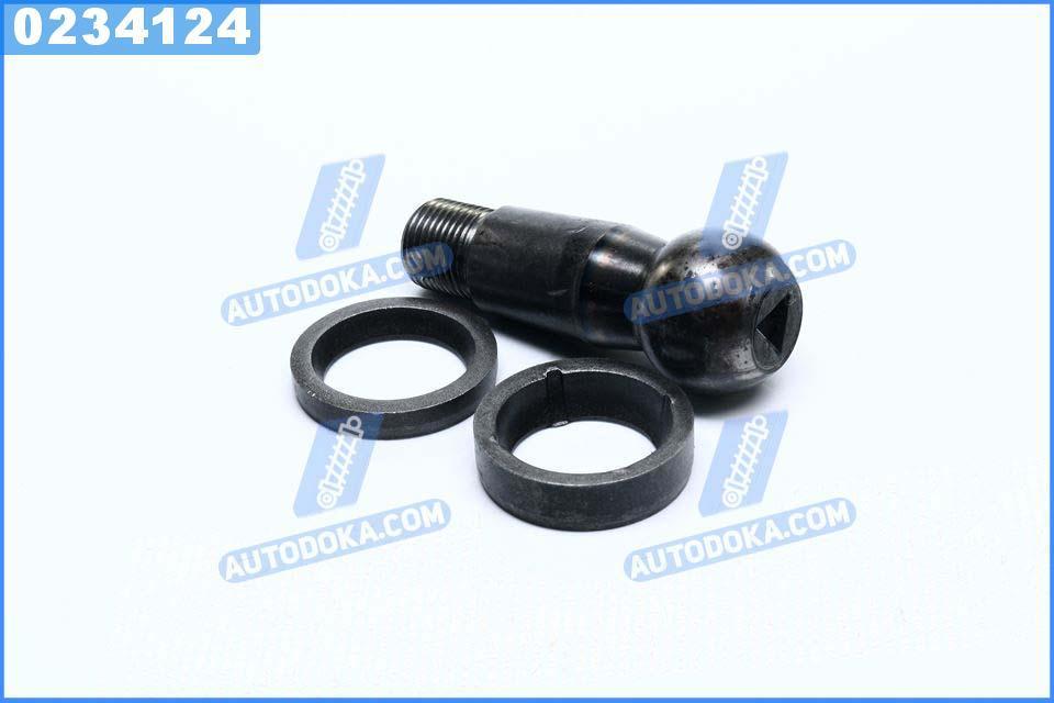Палец рулевой МАЗ 5336 с сухарем (ст. 40 ХН) (производство  Прогресс)  5336-3003065/66/67