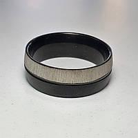 Стильне незвичайне кільце змінює форму з родієвим покриттям 20 розмір