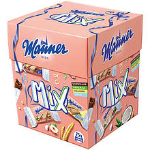 Вафли Manner Wien Mix 25 шт. в боксе, 375 грамм