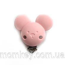 Кліпса Міккі (рожевий кварц)