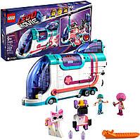 Конструктор Лего 70828 автобус для вечеринки 1024 детали LEGO THE LEGO MOVIE 2 Pop-Up Party Bus