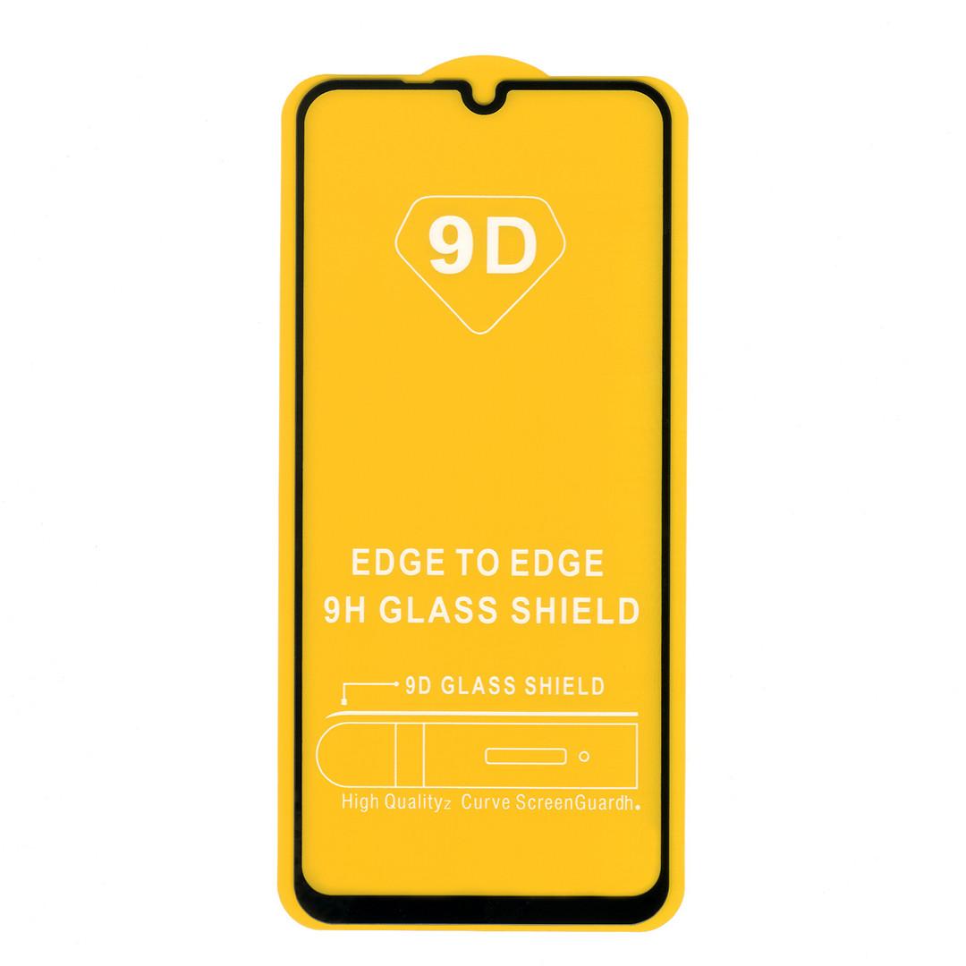 Защитное стекло для Huawei P Smart S (AQM-LX1), full glue, черное