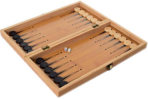 Шахи дерев'яні 3в1 35х35 см Нарди, Шашки (MS 822-35), фото 2