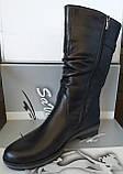 Сапоги женские зимние из натуральной кожи от производителя модель СВ111, фото 4