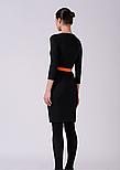 Платье футляр в черно-белую полоску Lesya Фриер 5, фото 3