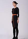 Платье футляр в черно-белую полоску Lesya Фриер 5, фото 2