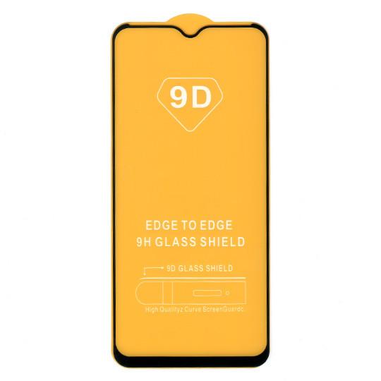 Защитное стекло для Realme C3, full glue, черное