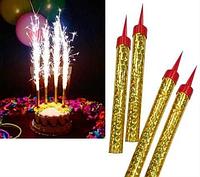 Свічки Феєрверк в торт 15 см, фото 1