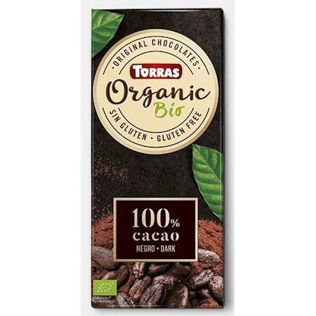 "Шоколад ""100% какао"" Torras Organic, 100 г"