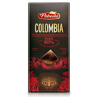 "Шоколад горький ""Колумбия"" 80% какао Победа вкуса, 100 г"