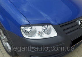 "Вії фар VW Caddy 04-10 ""FLY"""