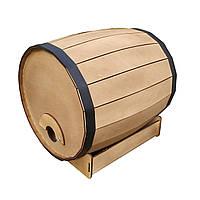 Муляж Деревянная Бочка Для Винных Пакетов Tetra Pak и Bag-In-Box