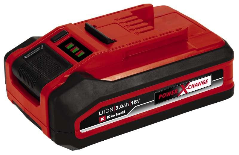 Акумуляторна батарея Einhell Power-X-Change Plus 18V 3,0 Ah(Безкоштовна доставка)