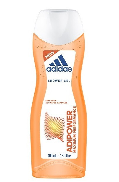 Гель для душу жіночий  Adidas Adipower Maximum Performance 400мл