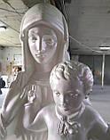 Скульптура Богородицы №4 высота 180 см, фото 2