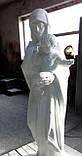Скульптура Богородицы №4 высота 180 см, фото 9