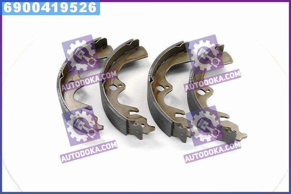 Колодки тормозные барабанные КИA SPORTAGE 2.0I/2.0TD 99-02 задние (производство  SANGSIN)  SA018