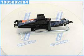 Домкрат механический 1т. 100/350 мм с резинкой (Дорожная Карта)  DK52-103A