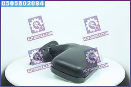 Дзеркало бокове ГАЗ 3302 нового зразка з поворотом праве чорне, матове (Дорожня Карта) 46.8201022-40