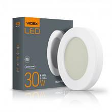 Світильник 30W LED ART (ЖКХ) круглий 5000K 220V Videx