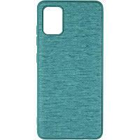 Чехол силиконовый Gelius Canvas для Samsung Galaxy A51 A515 Blue