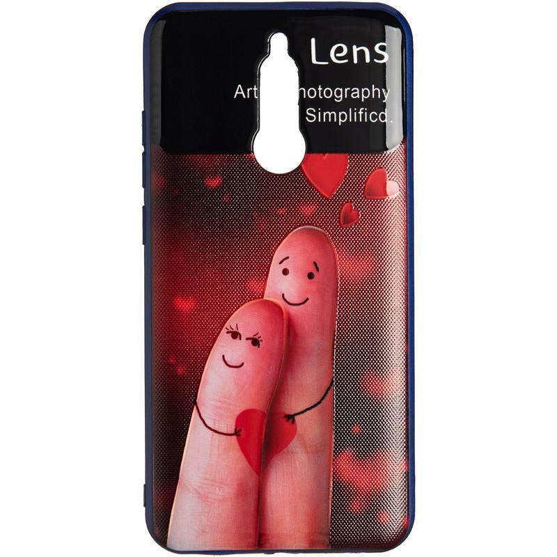Чехол накладка Gelius QRan для Xiaomi Redmi 8a 2 Fingers