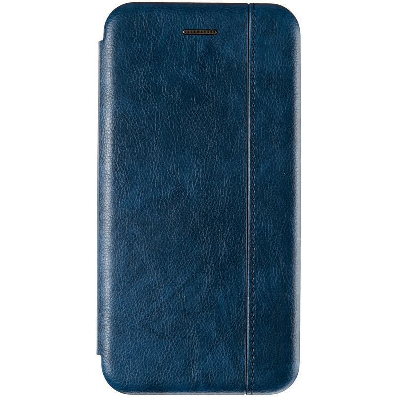 Чехол книжка кожаный Gelius для Xiaomi Redmi 8a Blue