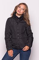 Демисезонная женская куртка MODA 0036 /02 (42-52) XS-XXL Черный