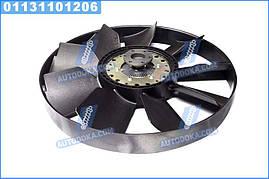 Муфта вязкостная с вентилятором 704мм, двигатель 740.50, 51 с обечайкой (RIDER)  020002748