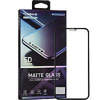 Защитное стекло Gelius Pro 5D Matte Glass для iPhone XR / 11 Black, фото 1