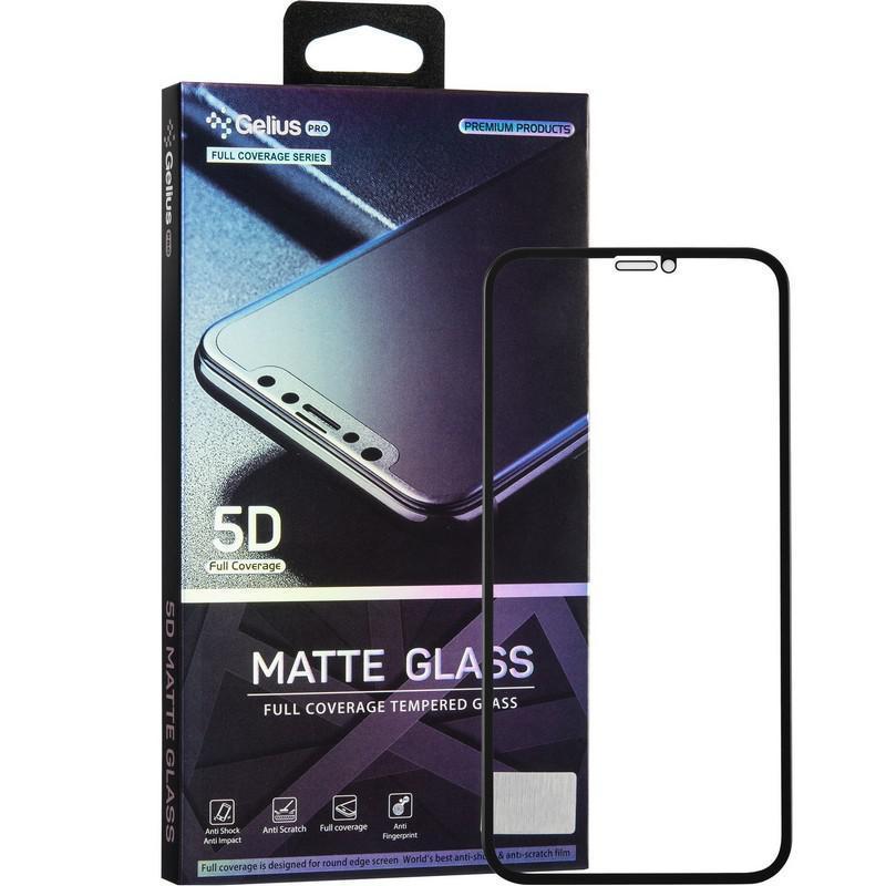 Защитное стекло Gelius Pro 5D Matte Glass для iPhone XR / 11 Black