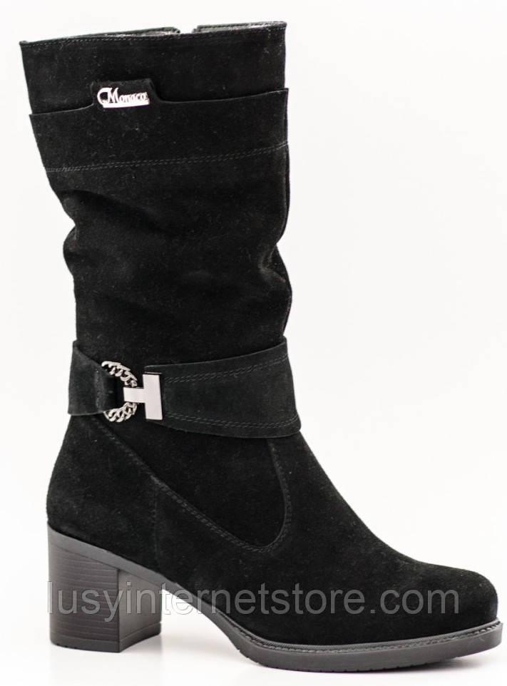 Сапоги зимние женские на каблуке от производителя РМ224