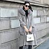 Шуба из овчины, пальто женское средней длины, капюшон из меха лисы