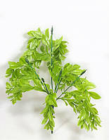 """""""Адиантум 26см""""искусственный куст со свисающими ветками,цвет светло зеленый, фото 1"""