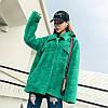 Зимняя меховая куртка из флиса с имитацией норки, искусственная шуба яркая 2 цв