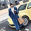 Зимняя плюшевая шуба с толстым мехом, свободное длинное пальто из искусственного меха 4 цв