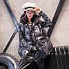Свободный женский жилет, пуховик, блестящий 2 цвета