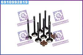 Клапан выпускной двигатель 406 комплект 8 шт. с м/колпачками (RIDER)  406.3906597-201