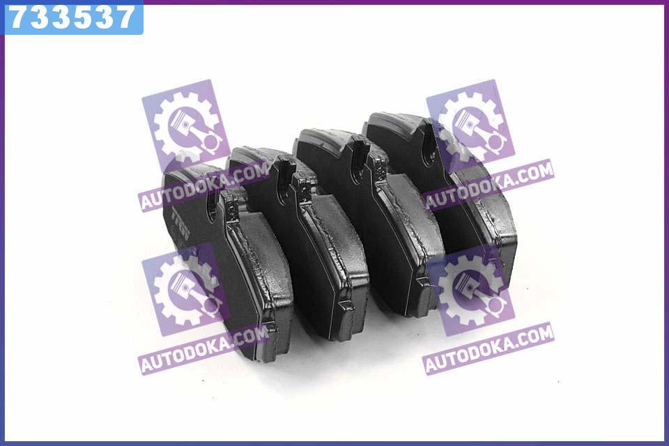 Купить Тормозные колодки, Колодки тормозные Mercedes VITO (638) передние (производство TRW) МЕРСЕДЕС, В-КЛAСС, GDB1373