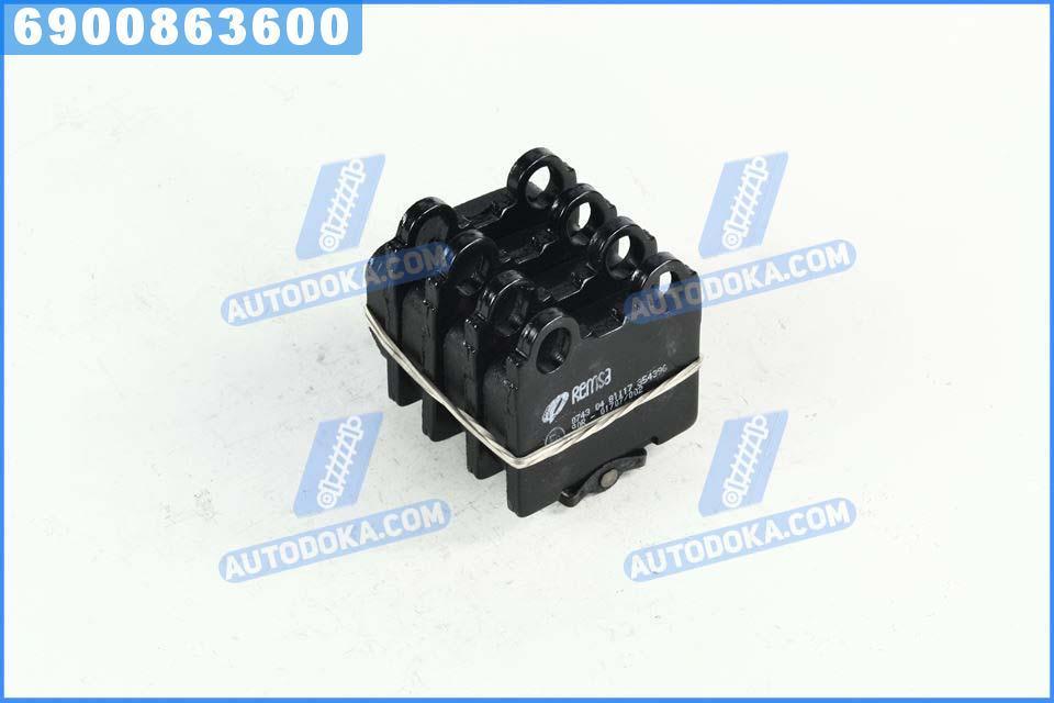 Колодки тормозные ЛЕКСУС GS задние (производство  REMSA) ИС, ИС  1, СЦ, 0743.04