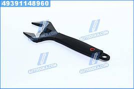 Ключ разводной 250мм, обрезиненная рукоятка, развод губок 50мм, Cr-V(про-во INTERTOOL)  XT-0050