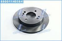 Диск тормозной задний Hyundai, КИA (производство  Blue Print) ХЮНДАЙ, и10, ПИКAНТО, ADG04396