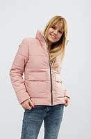 Демисезонная женская куртка MODA 0035 XS - XXL (42-52) Розовый
