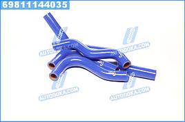 Патрубки отопителя ГАЗ 3302 (дв.406) (компл. 4 шт. силикон) (TEMPEST)  TP.1394